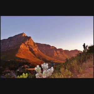 Table Mountain Sundown